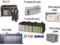 How to Unlock allen bradley plc MicroLogix_1000_1100_1200
