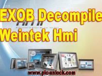Weintek hmi exob file decompile and upload disable solution